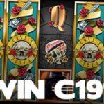 Win 199 euro op de Guns N' Roses slot met de Klaver Challenge